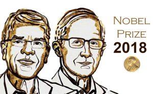 برنده جایزه نوبل 2018|ویلیام نوردهاوس و پاول رومر| انتشارات هورمزد